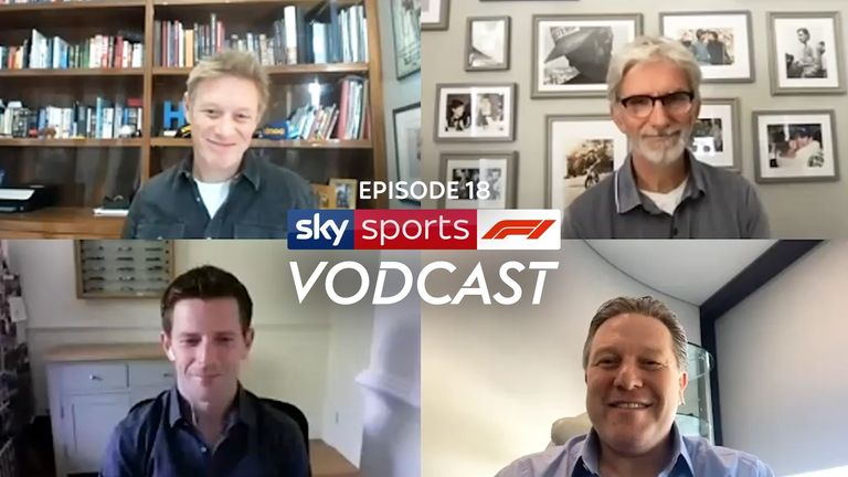 Zak Brown joins Sky F1 on Friday's Vodcast to explain why McLaren opted for Daniel Ricciardo to replace Carlos Sainz over Sebastian Vettel. Plus, what now for the 2021 driver market? Watch the full episode