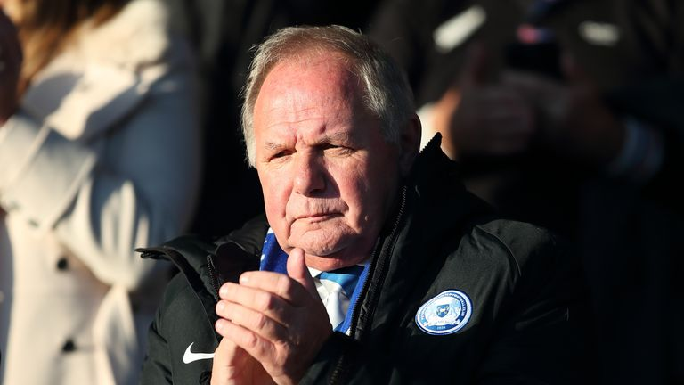 Barry Fry has been at Peterborough since 1996 when he was appointed first-team manager