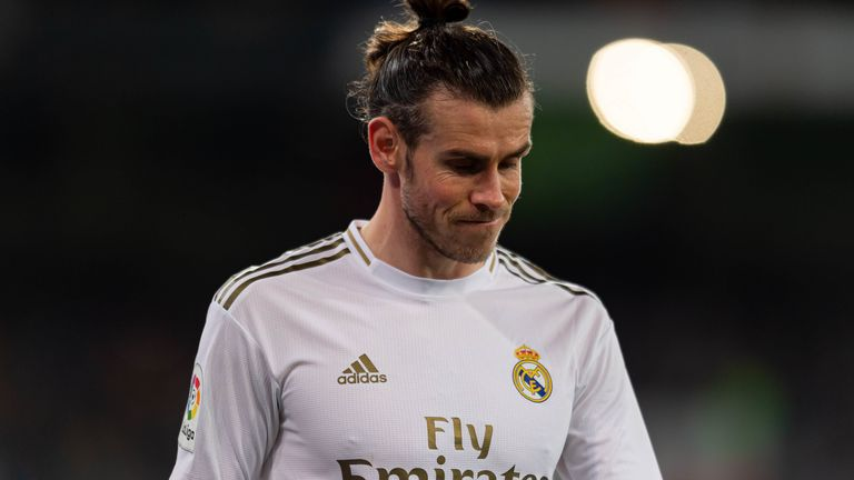 The Welshman featured in only 16 La Liga games during the 2019/20 season