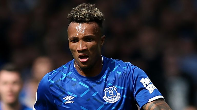 Jean-Philippe Gbamin has only played twice for Everton since signing for the club in August 2019