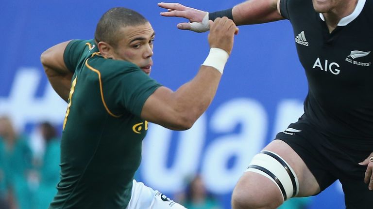 Bryan Habana sent the Springbok fans to their feet with two tries inside the opening 20 minutes
