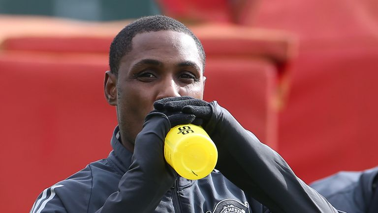 Odion Ighalo's future at United is uncertain