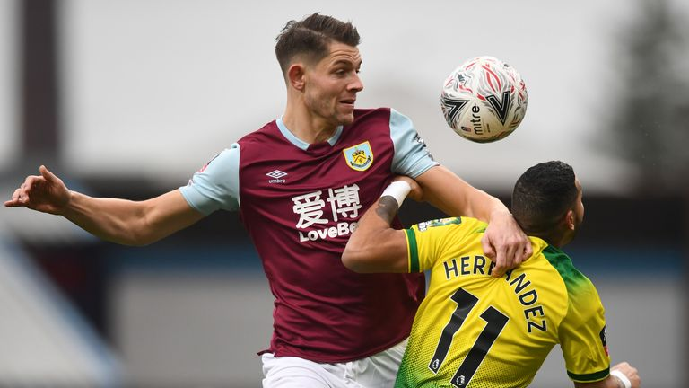 Tarkowski has made 143 appearances for Burnley since joining the club in 2016