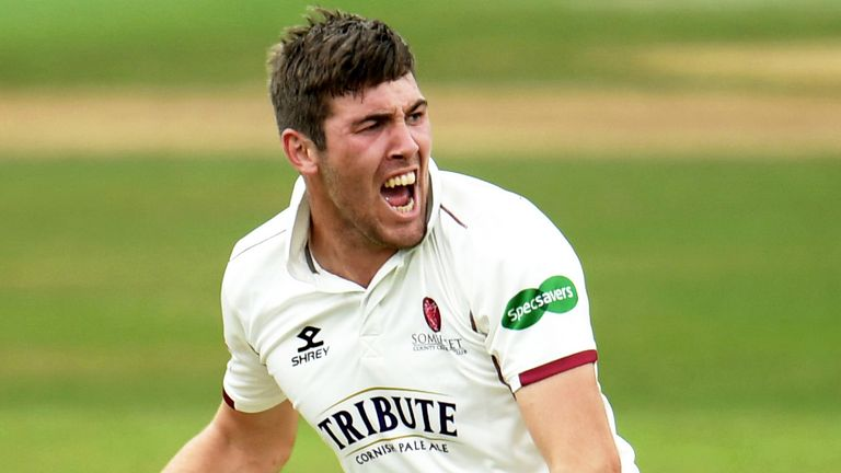 Overton has taken 164 first-class wickets in his career