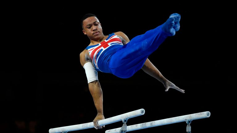 Fraser became the first-ever black male to win a World Artistic Gymnastics Championships gold medal in October