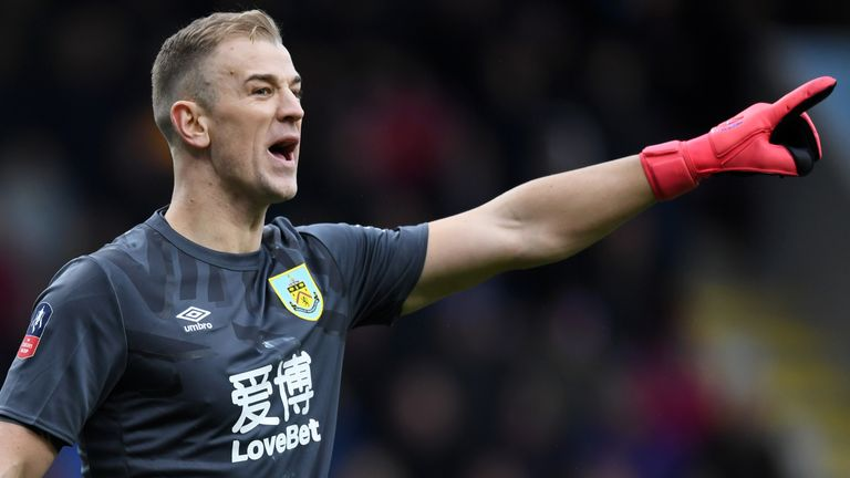Joe Hart is one of four players who have recently left the club on free transfers