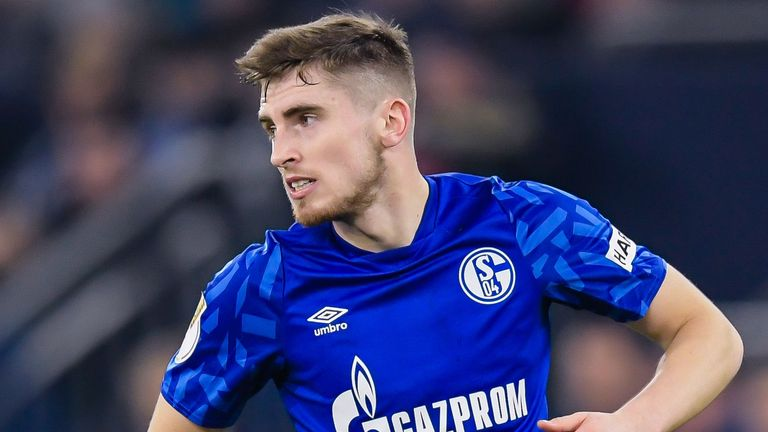Everton loanee Jonjoe Kenny will hope to play in Saturday's Revierderby
