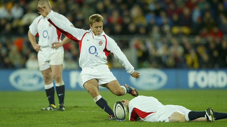 Wilkinson was immaculate off the kicking tee