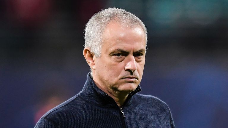 Jose Mourinho faces his former club Manchester United on Friday, live on Sky Sports