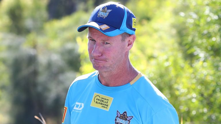 Justin Holbrook is seeking improved displays from Gold Coast