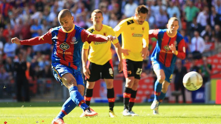 Kevin Phillips' successful penalty kick was enough to send Crystal Palace back to the top-flight in 2013