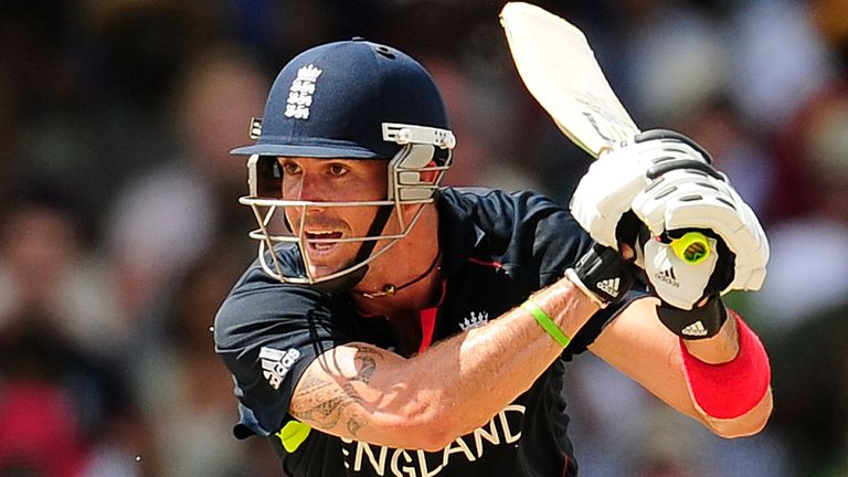 Kevin Pietersen helped England to win the T20 World Cup in 2010