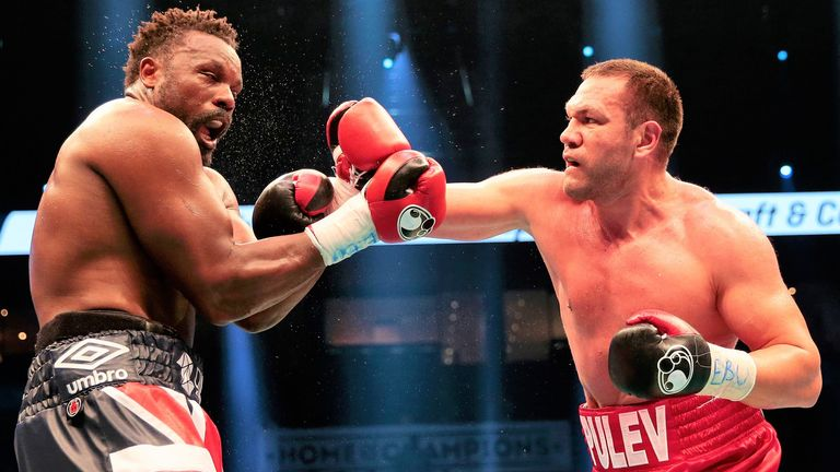 Pulev plans to bring a world heavyweight title back to Bulgaria