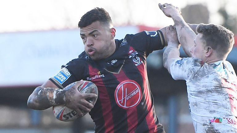 Luther Burrell has tried to bring a different approach to playing as a league centre