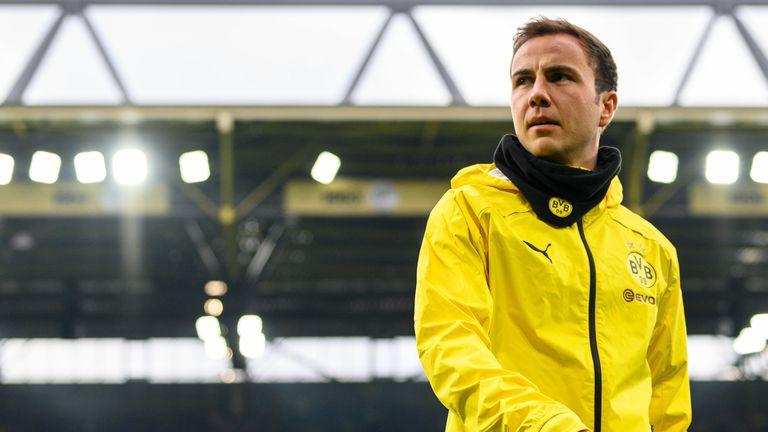 Mario Gotze wird Borussia Dortmund zum Ende der Saison verlassen