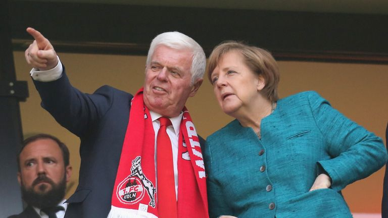 German Chancellor Angela Merkel is expected to announce when sport can resume in the country on Wednesday