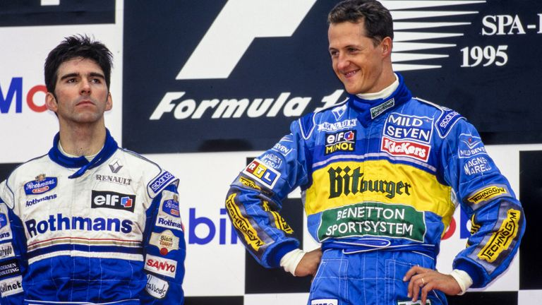 A quarter of a century on, Damon Hill and Martin Brundle suspect that the huge controversy over Michael Schumacher's defensive driving at the 1995 Belgian GP wouldn't be deemed as outrageous today.