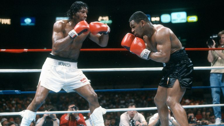 19-year-old Tyson already had a 20-0 record when he met Green in the ring