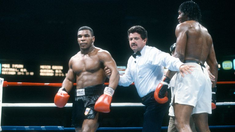 Tyson defeated Green in the ring before they met on the street
