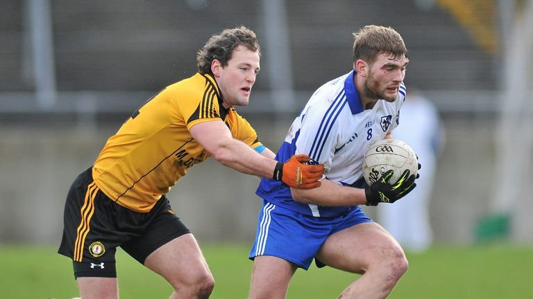 Aidan O'Shea and Michael Murphy in action during the 2014 competition