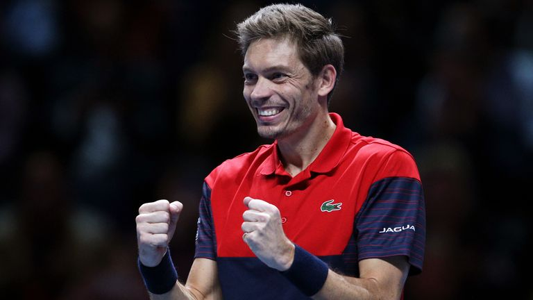 Nicolas Mahut resumed training in France following the end of the coronavirus lockdown period