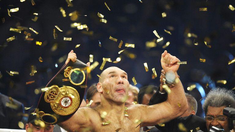 Valuev was WBA heavyweight champion