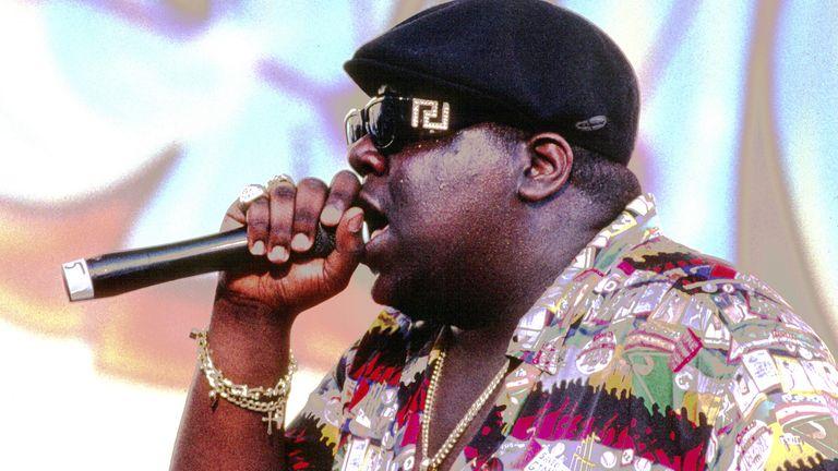 Hip-hop legend Notorious BIG was hot property...