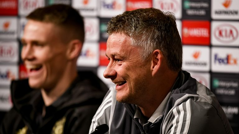 Solskjaer is looking forward to welcoming back a fully fit United squad