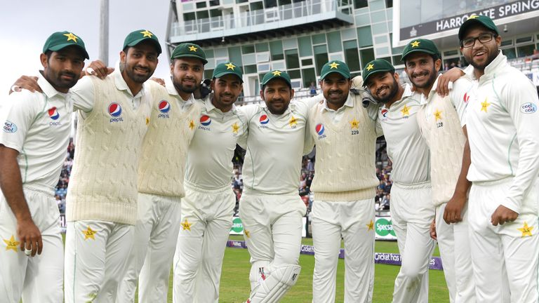Pakistan drew their Test series with England 1-1 on their last tour in 2018