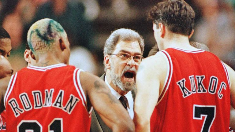 Phil Jackson allowed Rodman to visit Last Vegas for 48 hours, but Rodman came back late