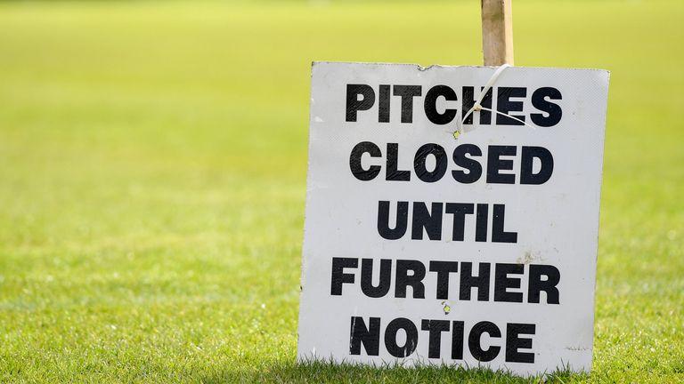 GAA club fields remain closed