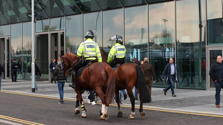 Some Premier League clubs are to hold talks with their local police force