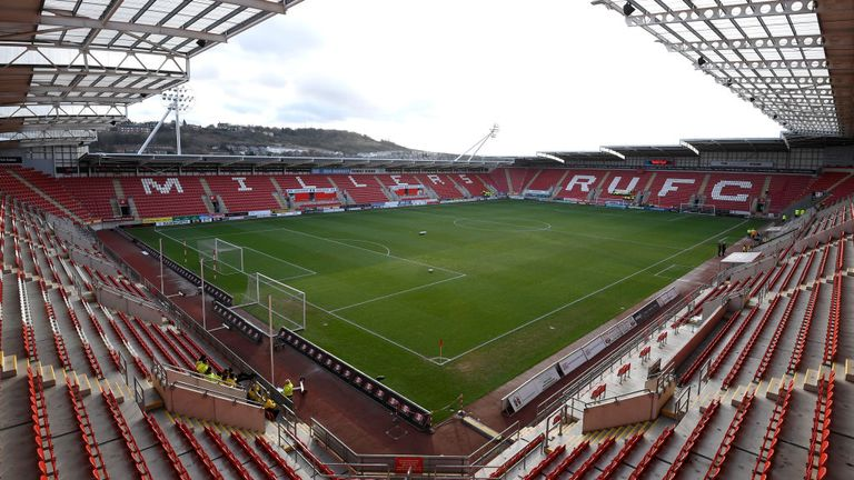 Rotherham United are currently second in League One