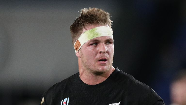 Newly instilled All Blacks captain Sam Cane will miss the match due to concussion