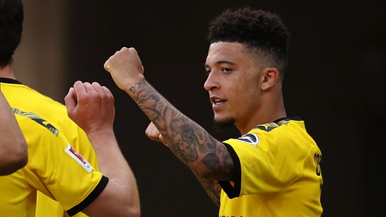 A number of top European clubs remain interested in signing Jadon Sancho