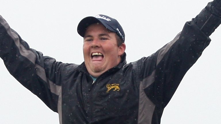Lowry won the Irish Open as a 22-year-old amateur in 2009