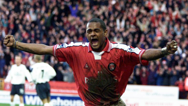 Bartlett scored twice against Manchester United on his home debut