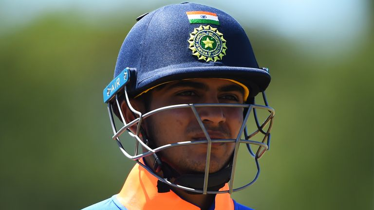Gill has played two one-day internationals for India so far