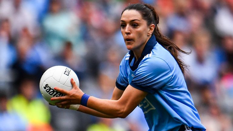 Sinead Goldrick is one of the leaders on the Dublin team