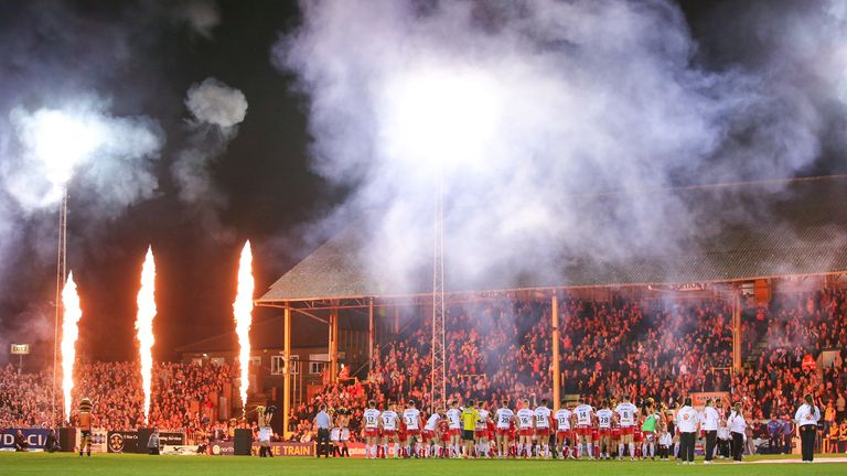 There was a red-hot atmosphere at Mend-A-Hose Jungle for the 2017 semi-final
