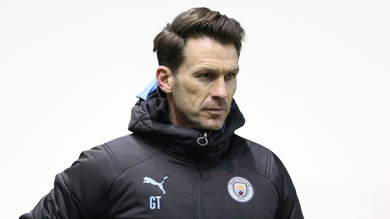 Gareth Taylor has previously worked with the men's U18 side at Manchester City