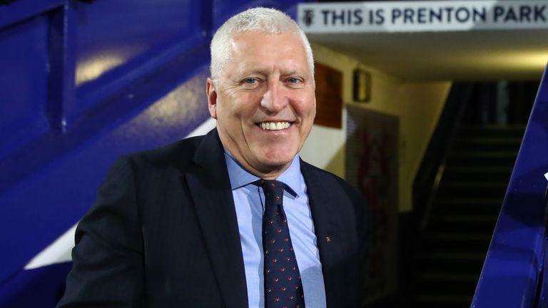 Tranmere chairman Mark Palios has put forward an alternative proposal to PPG