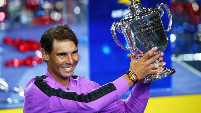 Rafael Nadal will not be defending his US Open title