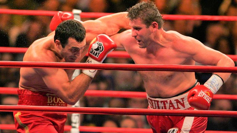 Klitschko and Ibragimov became embroiled in an ugly encounter