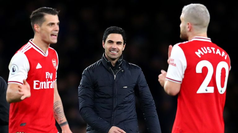 Paul Merson believes Mikel Arteta could benefit and see pressure lifted of his shoulders