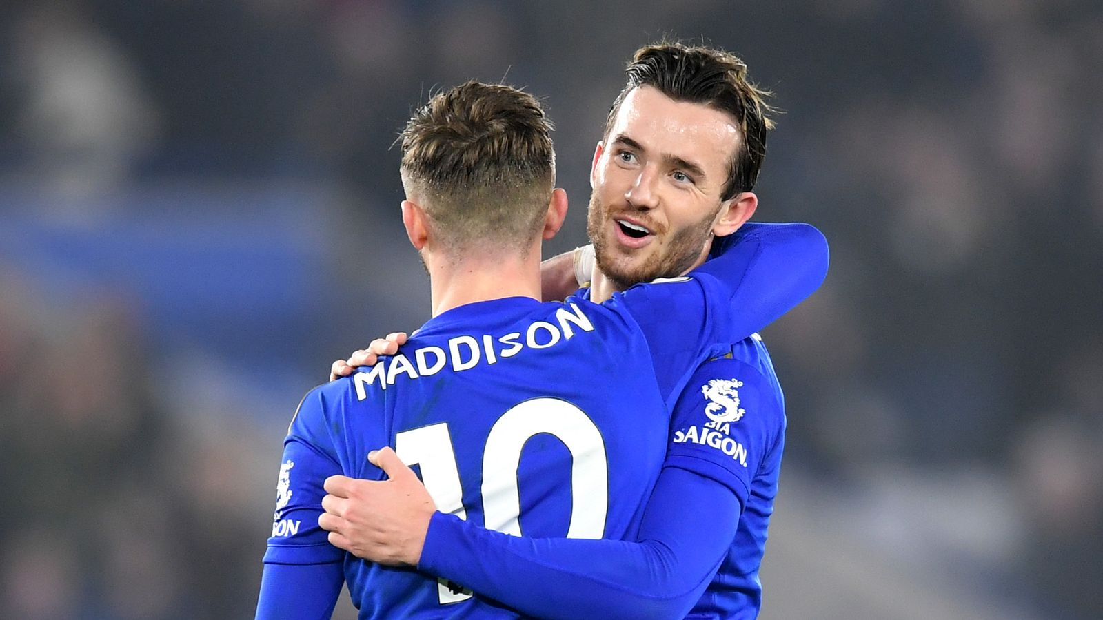Leicester duo James Maddison and Ben Chilwell to miss Bournemouth trip