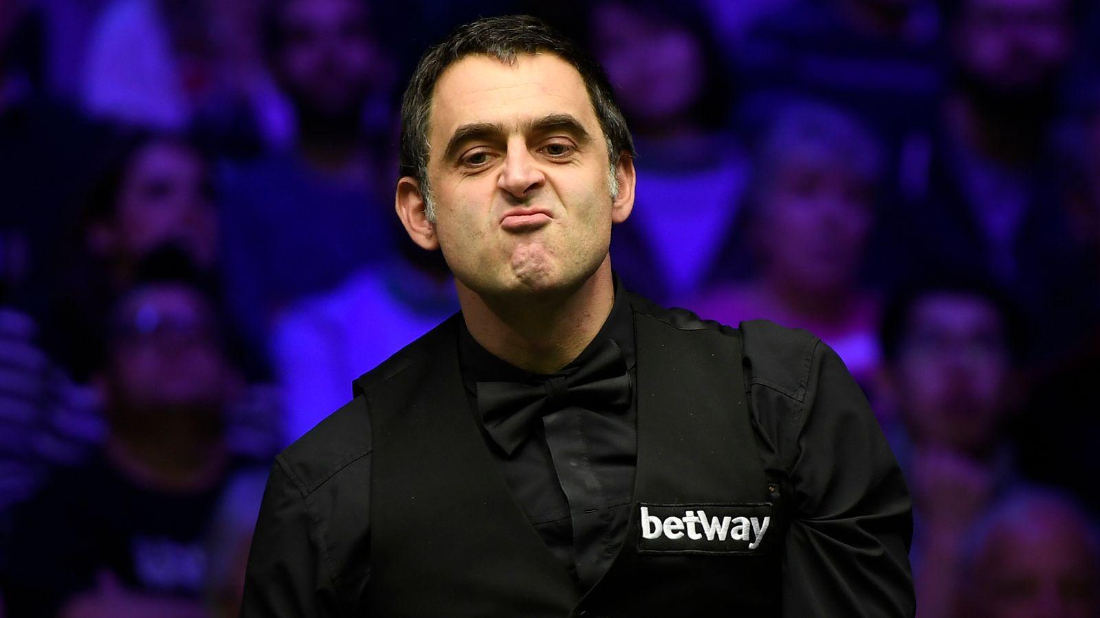 Ronnie OSullivan admits struggle at snookers