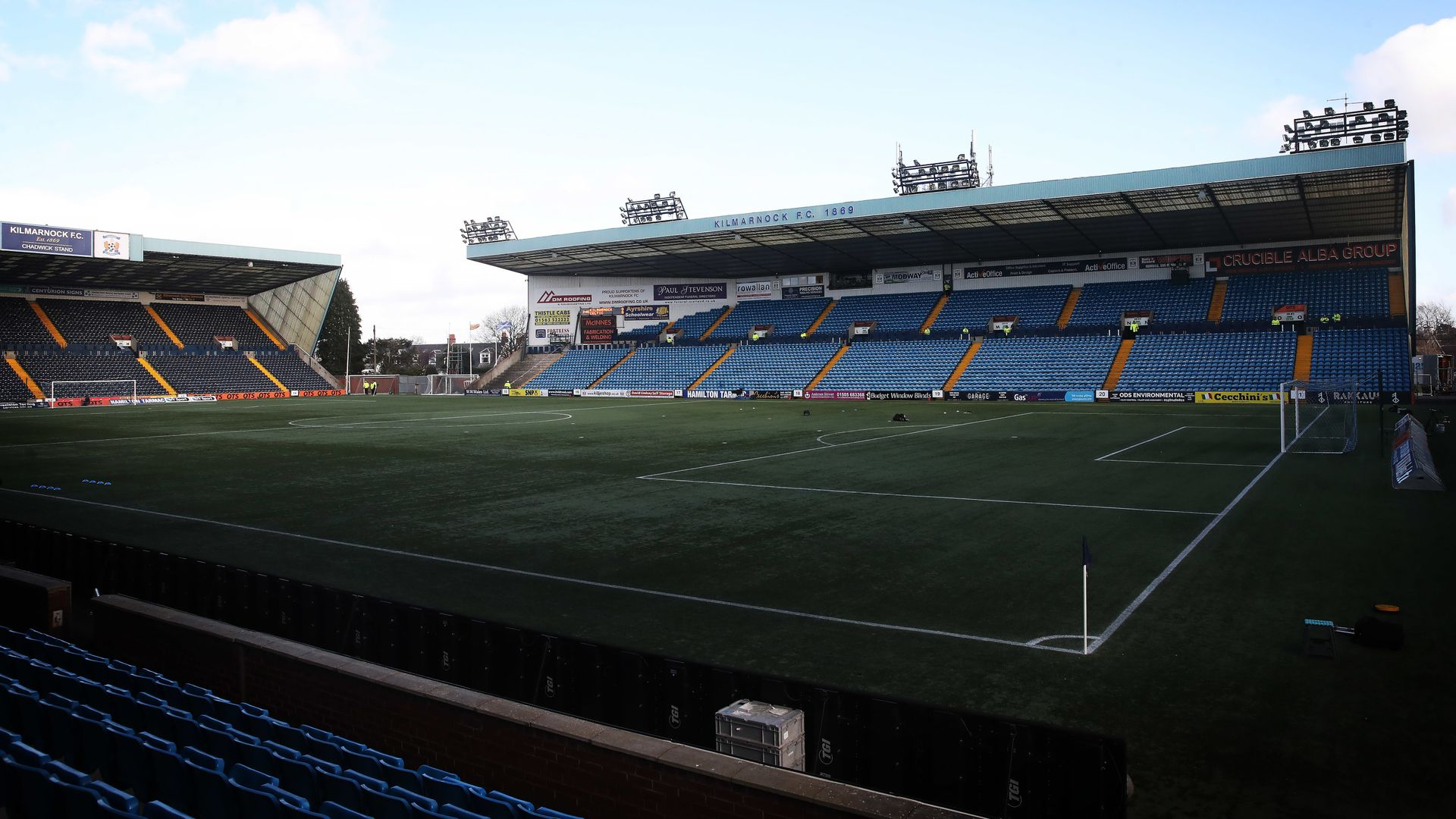 Kilmarnock squad advised to self-isolate for 14 days