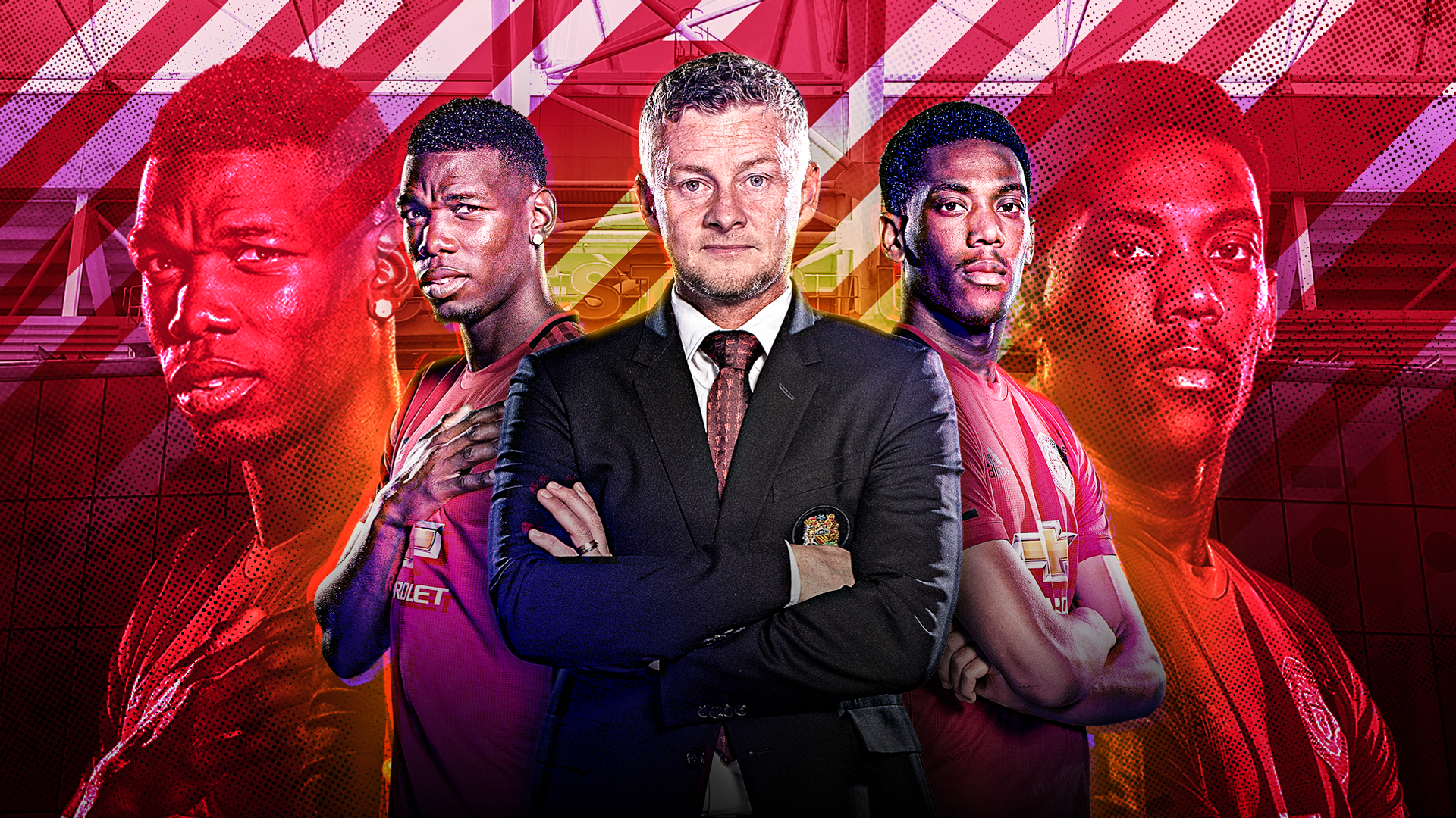 Ole on Martial revival and Bruno, Pogba plans