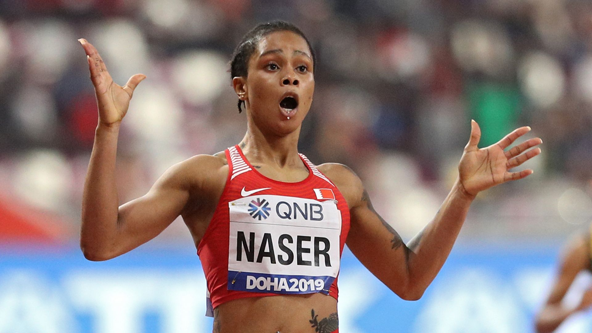 World 400m champion Naser provisionally suspended by AIU